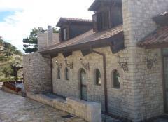 Επένδυση πέτρας ξερολιθιά Αλβανίας