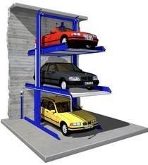 Σύστημα με  εξαρτημένη στάθμευση τριών οχημάτων