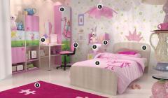 Παιδικό δωμάτιο: χώρος ζωντανός, χώρος έκφρασης
