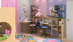 Παιδικό γραφείο και Παιδικό δωμάτιο
