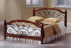 Mεταλλικό κρεβάτι Victoria