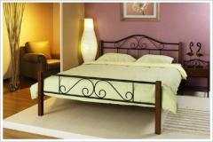 Μεταλλικό Κρεβάτι Jasmine Μονό και Διπλό