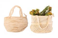 Tσάντα Δίχτυ CO. Βαμβακερή για φρούτα, λαχανικά,