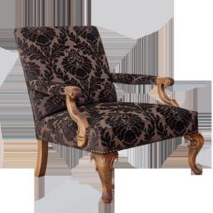 Κάθισμα πολυθρόνας φτιαγμένο από μεταλλικό