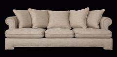 Καναπέδες  από ιμαντα γιουτας, καλυμμένο με γιούτα