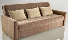 Τετραθέσιος καναπές, ημίδιπλο κρεβάτι