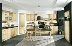 Κουζίνα απο μασίφ ξύλο και ντεκαπέ βαφή