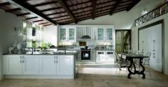 Κουζινα Ambra - Classic σε Laccato Bianco Lucido