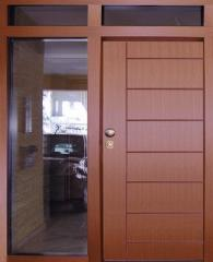 Πορτες αλουμινιου, Πόρτες Πάνελ και Πόρτες