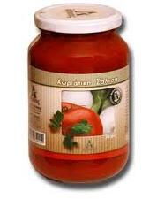 Tomato Organic Sauce With Basil 330gr
