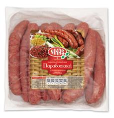 Σειρά χωριάτικων λουκάνικων από εκλεκτό κρέας