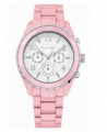 Ρολόι του TOMMY HILFIGER από ροζ πλαστικό με πολλαπλές λειτουργίες