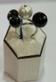 Δαχτυλίδι ασημένιο 925 με πέρλα και όνυχα της Gregio