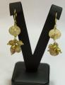 Σκουλαρίκια ασημένια με πέτρες της Gregio