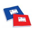 Super Πλάγια πλαστικά τετράδια σε διάσταση 14x20 σε 5 διαφορετικά χρώματα.