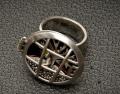 Χειροποίητο δαχτυλίδι από ασήμι 925.