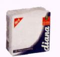 Χαρτοπετσέτα DIANA 100Φ 33Χ33 λευκή