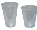 Διάφανα πλαστικά ποτήρια