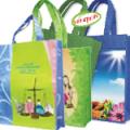 Τσάντα με τσέπη και φερμουάρ, non woven 100gr