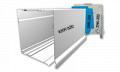Επικαθήμενο κουτί αλουμινίου 320Χ320 mm  για γκαζαροπορτα με φυλλαράκι 19Χ77 (ΚΚΚ-320)