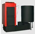 O λέβητας Kombi kn-sf, αποτελείται από τον λέβητα Kombi kn με τον μηχανισμό αυτόματης τροφοδοσίας και καύσης βιομάζας sf.