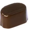 Πραλίνα φουντουκιού , σε dark σοκολάτα, χωρίς ζάχαρη. 2 kg