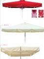 Ομπρέλες από αλουμίνιο με ύφασμα από PVC ή ακρυλικό σε διάφορες διαστάσεις
