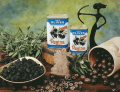 Μαύρες φυσικές ελιές της Ελλάδος