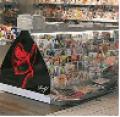 Ράφια DVD-CD, ράφια εντύπων και τσιγάρων