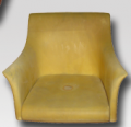 Πολυουρεθάνες και καθίσματα από καλουπωτό αφρό με μεταλλικό σκελετό