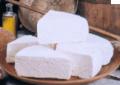 Τυρί ξυνομυζήθρα Κρήτης από τυρόγαλο προβάτου, κατσικιού γάλακτος.