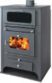 Ατσαλένια Σόμπα Νερού με Φούρνο Steel Boiler Stove with Oven