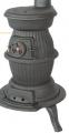 Στρόγγυλη Θερμάστρα Cast Iron Pot Belly Stove