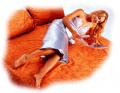 Ηλεκτρικη κουβερτα αδυνατισματος με υφασμα δερματινη