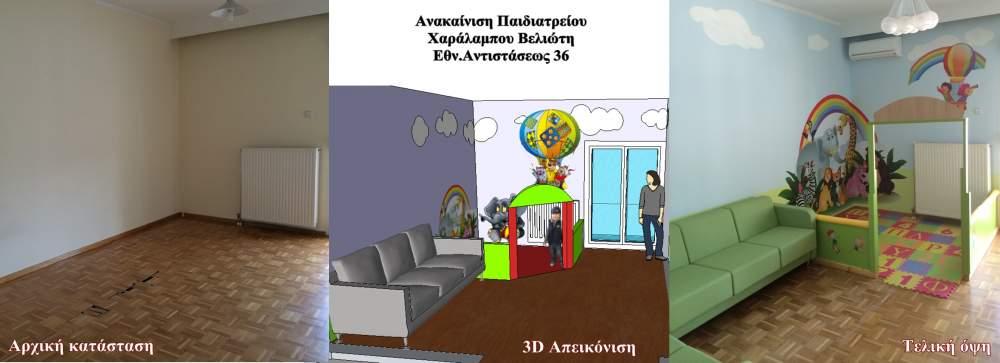 Παραγγελία Ανακαινίσεις χώρων // Οικοδομικές Άδειες-εργασίες