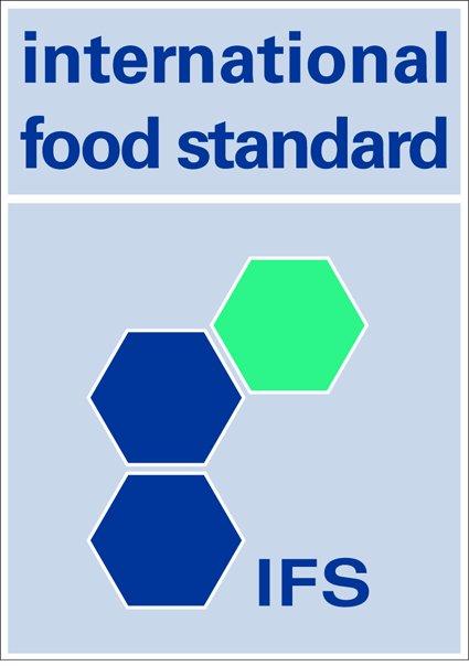 Παραγγελία IFS FOOD STANDARD -CERTIFICATE NUMBER C0239184