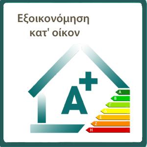 Παραγγελία Εξοικονόμηση κατ' οίκον