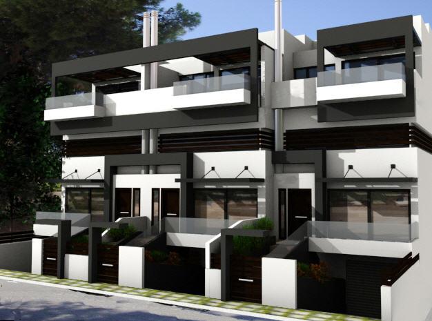 Παραγγελία Κατασκευή πολυτελών ανεξαρτήτων κατοικιών