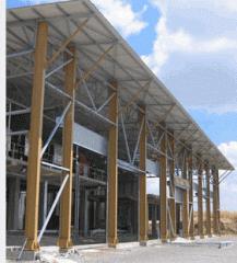 Ξειδικευμένες κατασκευές και κατασκευή αποθηκευτικών χώρων