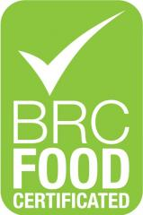 BRC CERTIFICATION NUMBER C0239184