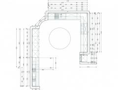 Σχεδιασμός και τοποθέτηση εντοιχισμένης κουζίνας