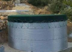 Μεταλλική δεξαμενή νερού καλής ποιότητας