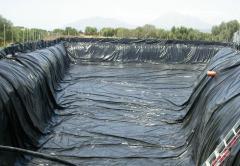 Κατασκευή λιμνοδεξαμενής για μεγάλες ποσότητες νερού