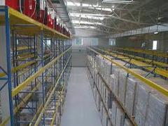 Θάλαμοι κατάψυξης και συντήρησης, αποθηκευτικοί