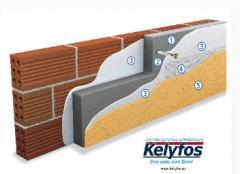 Τοιχοποιία, σύστημα εξωτερικής θερμομόνωσης και ανακαίνισης κτιρίων.