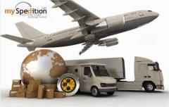 Διεθνείς μεταφορές εμπορευμάτων, Υπηρεσίες Myspedition