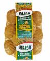 Συσκευασία πατατών σε κόκκινο ή καλαμποκί δίχτυ